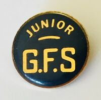 Junior GFS Girls Friendly Society Club Pin Badge Rare Vintage (J11)