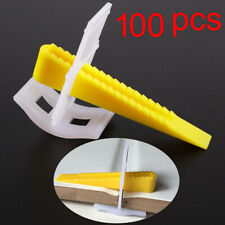 Removable Tile Spacer Plastic Clips Wedges Aligning Leveling System Installation