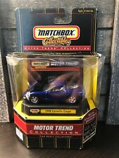 MATCHBOX COLLECTIBLES (MOTOR TREND) 98 CORVETTE / 1/64 Scale (BOX2)