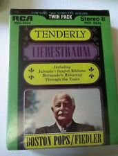 Tenderly & Liebestraum twin pk Boston Pops  Arthur Fiedler  8 Track  NEW SEALED