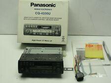 New ListingPanasonic Cq-4330U Car Stereo Am/Fm Cassette Xm Ready Cd Changer Control.