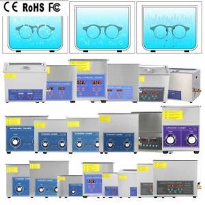 1,3-30L Ultraschallreinigungsgerät Ultraschallreiniger Ultrasonic Cleaner + Korb