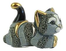 Rinconada - Blue Grey Tabby Kitten Figurine