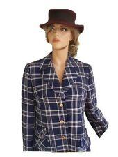 Toni Dress Blazer blau weiß Gr 40