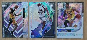 2019-20 Panini Status LeBron James Lot