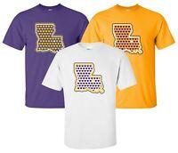 """""""Louisiana Love"""" T-Shirt S-4XL geaux tigers lsu football baton rouge bayou cajun"""