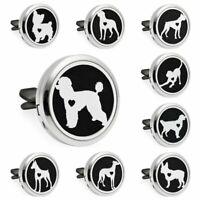 pet dog Essential Oil Car Air Vent clip Freshener Diffuser Aromatherapy Locket