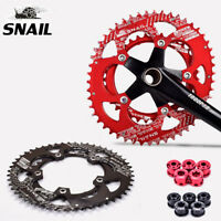 SNAIL Road Bike 110BCD 50/35T Chainring Double Speed Oval 9/10/11S Chainwheel