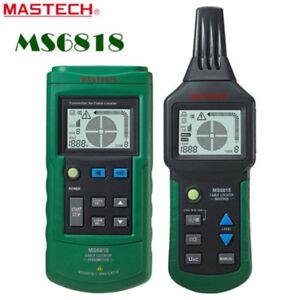 Mastech Wire Cable Locator Tracker Network Line 12V-400V AC/DC Tester Detector