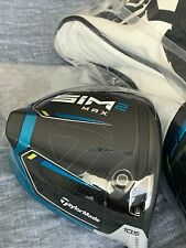 TaylorMade SIM2 Max 10.5 Head (New In Plastic) + Head Cover + Tool