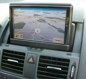 Mercedes Comand APS Klapp Monitor Zentraldisplay für C-Klasse W204
