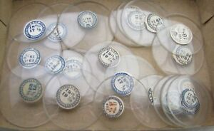 (1) Open Faced Pocket watch crystal. One (1) only- 16 mm to 43 mm - your choice
