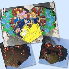 Princess Invades Disney Fantasy pin LE 50  Cinderella Snow White 7 dwarfs