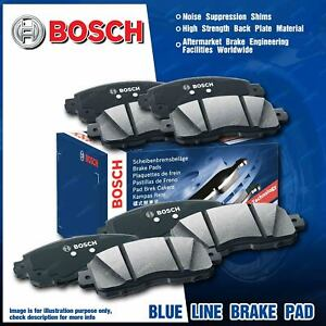 8 Pcs Bosch Front + Rear Brake Pads for Holden Caprice Statesman WM Commodore VE