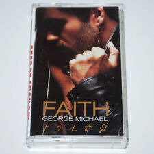 George Michael Faith Cassette Tape 1987 w/ Father Figure I Want Your Sex & MORE