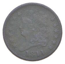 1811 Classic Head Half Cent *0975
