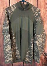 Massif Mountain Gear Army Combat Shirt Men's Digital Camo Size Large NEW