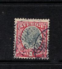 SWEDEN SG54 1K GREY & RED Fine Used