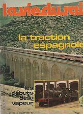 la vie du rail N°1752 du 20 juillet 1980 traction espagnole