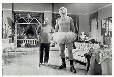 """1992 Vintage Photo wrestler Hulk Hogan & actor Sherman Hemsley """"Mr. Nanny"""" movie"""