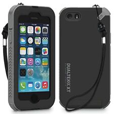 PUREGEAR BLACK/GRAY DUALTEK-XT CASE BUILT-IN SCREEN PROTECTOR FOR iPHONE 5 5s SE