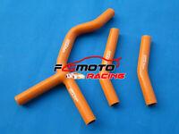 For KTM 125/250 SX/SXS 03-2006;200 EXC/MXC 03-04;EXC 2004 SILICONE RADIATOR HOSE