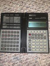 Vintage Hewlett-Packard 1986 Hp-28S Advanced Scientific Calculator Lr1 Batteries