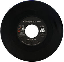 "KETTY LESTER  ""PLEASE DON'T CRY ANYMORE""   AWESOME  NORTHERN SOUL   LISTEN!"