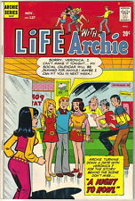 Life With Archie Comic Book #127, Archie 1972 FINE+