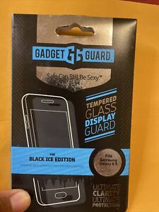 Gadget Guard Black Ice Edition Glass Screen Protector Samsung Galaxy S6 Sealed