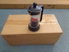 8 Bodum French Coffee Press Single Cup Clear Glass Black  B&B Cognac Liqueur NWT