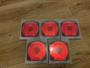 5 x Sony XDCAM Dual Layer Discs PFD-50DLA