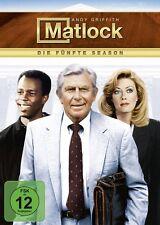 NANCY STAFFORD ANDY GRIFFITH - MATLOCK S5 6 DVD NEU