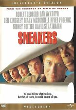 Sneakers ~ Sidney Poitier Robert Redford Collectors Edition DVD WS FREE Shipping
