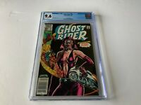 GHOST RIDER 75 CGC 9.6 WHITE PAGES 1ST APPEARANCE STEEL WIND MARVEL COMICS 1982