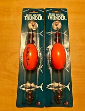 """Precision Tackle Cajun Thunder Fishing Sunglo 2.5"""" Oval Float Cork Lot of 2. New"""