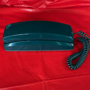 Vintage Dark Green GE General Electric Slim line Telephone Model 2-9226GRC