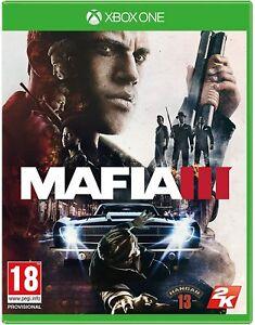 Mafia III 3 Xbox One Mint Fast Postage