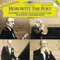 VLADIMIR HOROWITZ - HOROWITZ THE POET (SCHUBERT-KLAVIERSONATE D 960/+)  CD NEU