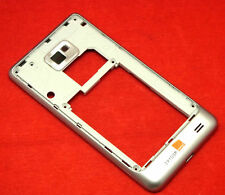 Samsung Galaxy S2 i9100 Mittelrahmen Rahmen Kamera Glas Kameraglas Linse Silber