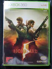 Resident Evil 5 Biohazard New Xbox 360 NTSC J Japonais Capcom