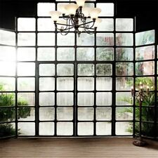 6x6ft Glass Window Wall Photography Background Studio Vinyl Photo Backdrop Props