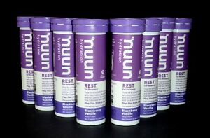 Nuun Hydration REST For Recovery Blackberry Vanilla (8 Pack) Factory Sealed!