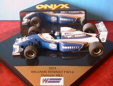 WILLIAMS RENAULT FW16 #0 DAMON HILL 1994 ONYX 203 1/43 FORMULA ONE F1