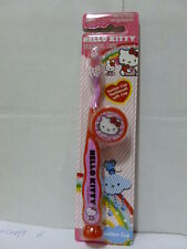 Sanrio Hello Kitty Kid Toothbrush w/ Suction Cup n Cap Brand New Must L@@K