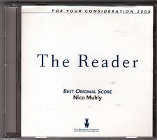 The Reader-2008-Score-Original Soundtrack-Promo-17tr-CD