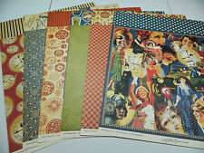 Graphic 45 Scrapbook Paper 12x12 Fashionista 6 Patterns 36 Double Sided Sheets!