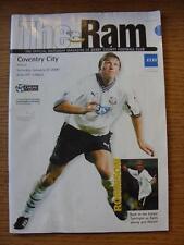 22/01/2000 Derby County v Coventry City  (Faint Marks)
