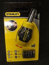 Stanley  0-66-357 Bit-Schraubendreher Stanley® kurze Ausführung mit 6 Bits