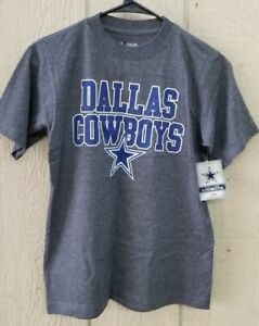 NFL DALLAS COWBOYS TONED UP YOUTH SIZE SHIRT CHAR GRAY ~ NEW w/TAGS CHOOSE SIZE